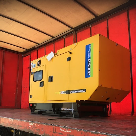 25kVA delivery